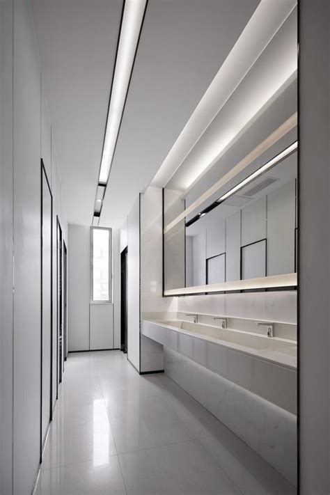 Pin  Ma Tao  Public Washroom Restroom Design