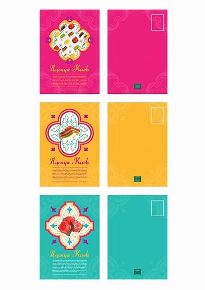 Peranakan Packaging Nyonya Menu Pattern Singapore Brand