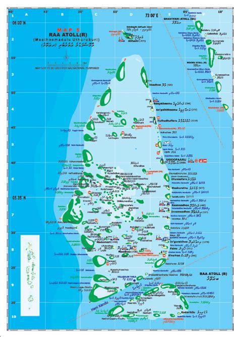 maldives map  islands