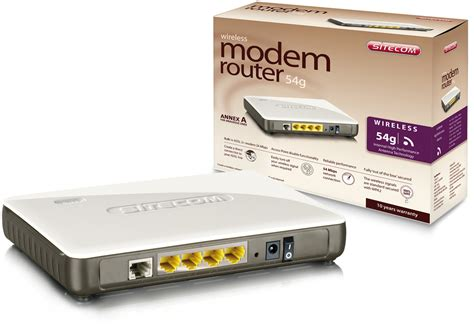 Sitecom Wl-613 Adsl2+ Modem Router 54g Photos