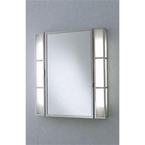 interior lighted medicine cabinet with mirror custom