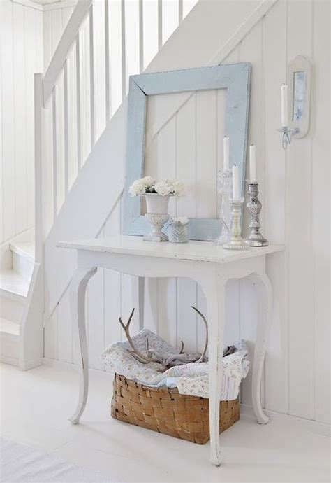 shabby chic entry table 25 shabby chic hallway and entryway décor ideas shelterness