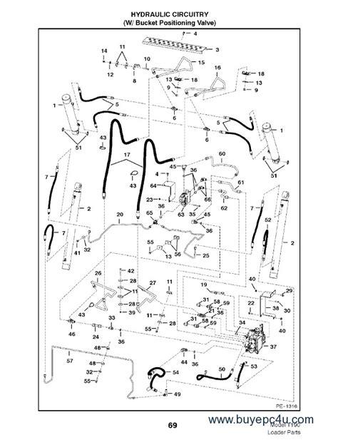 bobcat t300 parts diagram