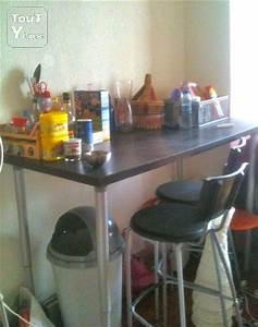 Table Haute Cuisine Ikea : table haute ikea a hauteur ajustable toulouse 31000 ~ Teatrodelosmanantiales.com Idées de Décoration