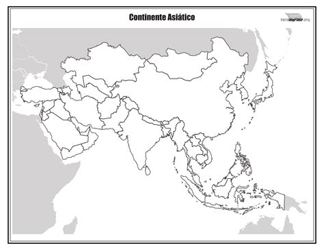 Mapa politico del continente oceania para colorear Imagui