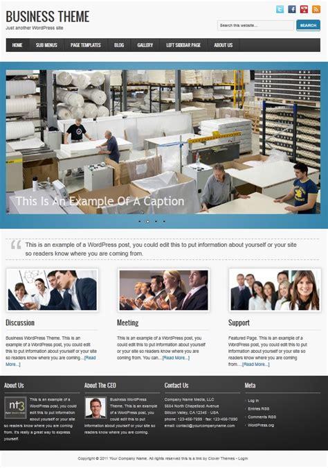 small business wordpress themes  company websites