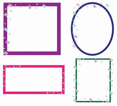 Clip Butterfly Frames Frame Domain Clipart Blocchi