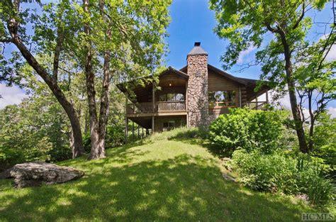 north carolina mountain log homes  sale