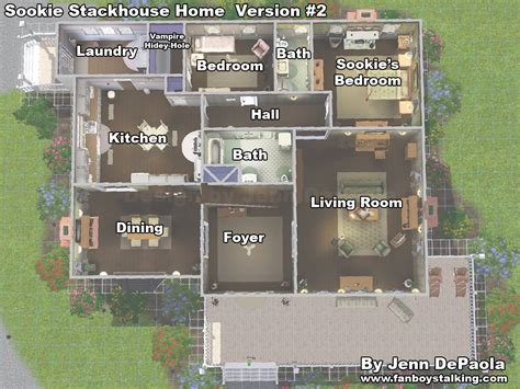 House Floor Plans For Sims 3