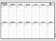 Fresh 30 Illustration 2 Week Calendar Printable Calendar