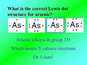 Lewis Dot Diagram For Arsenic