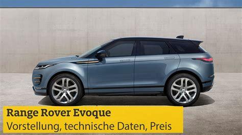 range rover preis range rover evoque vorstellung technische daten motoren preis adac 2018