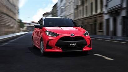 Toyota Yaris Hybrid 4k Wallpapers
