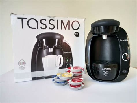 The one thing they have in common, is that they are easy to use, fast and very efficient at making great tasting coffee. BOSCH TASSIMO T20 COFFEE MACHINE + PODS | in Plymouth, Devon | Gumtree