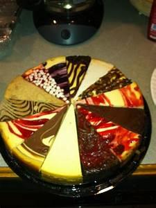 Multi flavor cheese cake | Cheesecakes | Pinterest ...