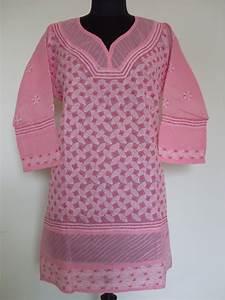 Designer Kurtis Online Wholesale Lucknow Chikan Wholesale And Retail 44 Size Plus Size