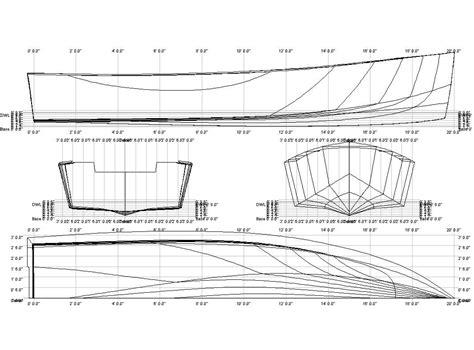 Skiff Dimensions by Www Boatdesign Net Attachments Crabbylinesplan Jpg 15995