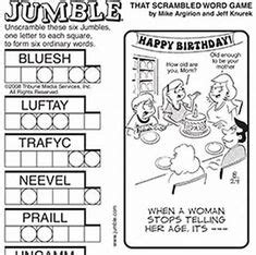 We did not find results for: free printable jumble puzzles - Bing images | Jumble Puzzles | Jumble puzzle, Jumble word puzzle ...