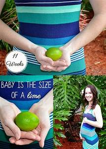 11 Weeks Pregnant  U0026 Baby Is The Size Of A Lime