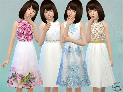 Fritzie.lein's Floral Tulle Dresses