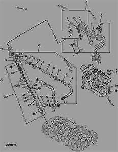 Fuel Injection Pump Nozzles And Lines  2030  - Progator John Deere 2030 - Progator