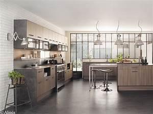 Idees deco pour une cuisine chic et elegante elle decoration for Idee deco cuisine avec cuisine tout Équipée avec Électroménager