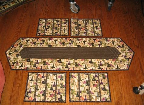 table runner  placemats  kate fleming