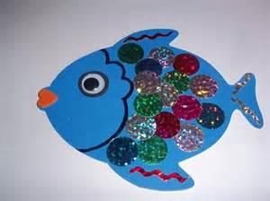 Rainbow Fish Craft Preschool Art