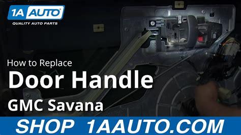install replace front  door handle