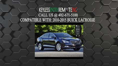 How Replace Buick Lacrosse Key Fob Battery