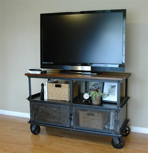vintage media console ellis media console vintage industrial furniture 3245