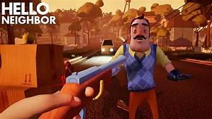 Trying To KILL THE NEIGHBOR!!! | Hello Neighbor (Alpha 4 ...