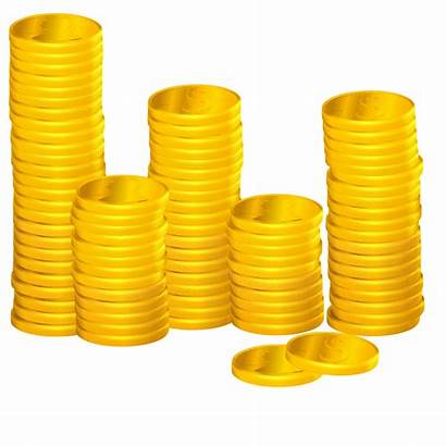 Coins Clipart Stacks Searchpng December
