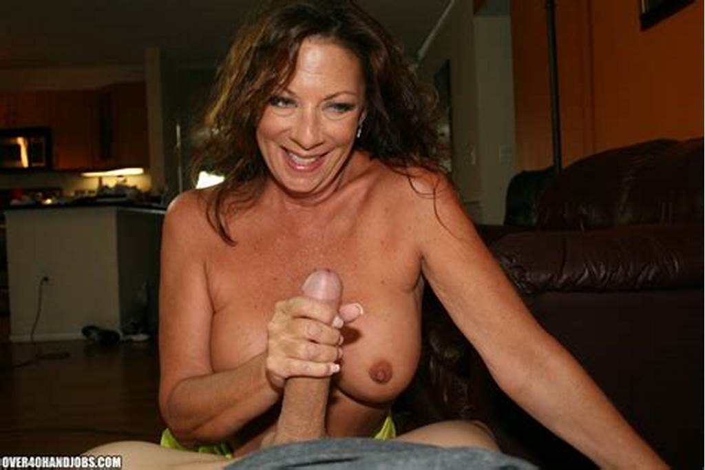 #Mom #Margo #Makes #Big #Cock #Explode #On #Over40Handjobs