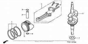 Honda Hrt216 S3da Lawn Mower  Usa  Vin  Mzcg