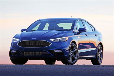 New Ford Fusion Sport by 2017 Ford Fusion Vs 2017 Mazda 6 Compare Cars