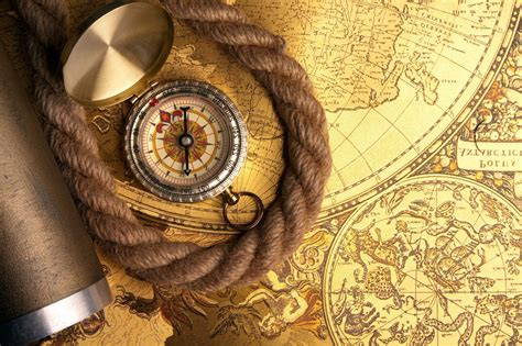 compass map rope phone wallpapers