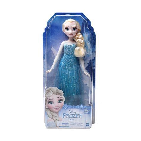 jual hasbro disney frozen classic fashion elsa mainan anak
