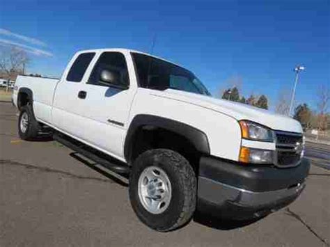 automobile air conditioning service 2006 chevrolet silverado 2500 electronic throttle control sell used 2006 chevrolet silverado 2500 extended cab long bed lt 4x4 6 0 v8 1 owner fleet in