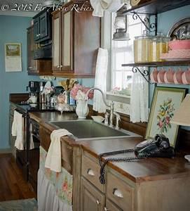 Cottage kitchen vintage style - Farmhouse - Kitchen