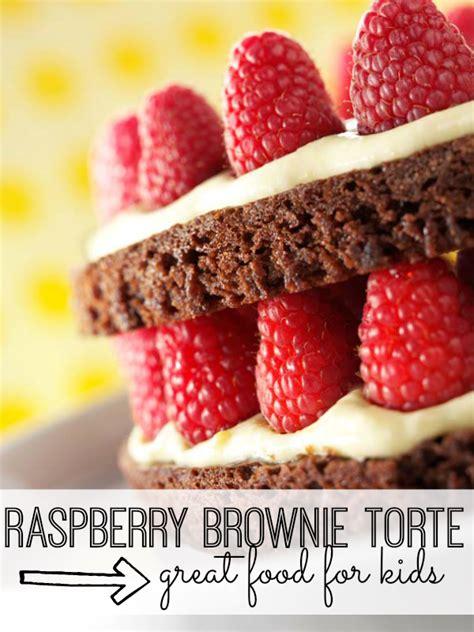 Raspberry Brownie Torte Dessert Recipe My Life And  Ee  Kids Ee