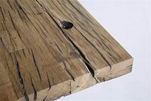 Rustikale Esstische Holz : esstisch x foot aus alten eichenbohlen ~ Michelbontemps.com Haus und Dekorationen
