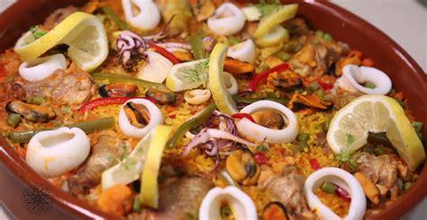 cuisine choumicha arabe choumicha paella au poulet et aux légumes