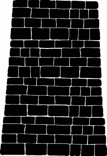 Brick Wall Clip Vector Svg Clipart Stone