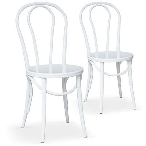 chaise de bistrot blanche les tendances chaises bistrot blanche coste
