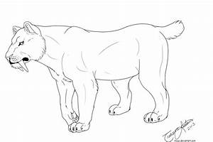 Get This Saber Tooth Tiger Coloring Pages To Print 67219