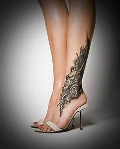 50 Leg Tattoo Designs for Women