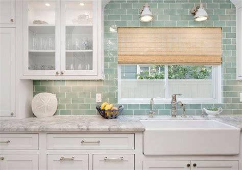 seafoam green kitchen 17 best ideas about subway tile backsplash on 2137