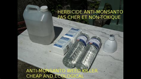désherbant naturel vinaigre astuce jardin d 233 sherbant bio bon march 233 et naturel cheap and ecological killer monsanto