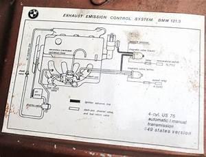 Emission Diagram Under Hood Stickers - Bmw 2002 And Other  U0026 39 02